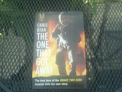 CHRIS RYAN SIGNED Hard Back Book THE ONE THAT GOT AWAY 1st PRESS 1995  Very Good • 4£