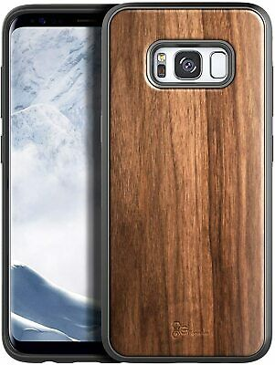 $ CDN18.44 • Buy For Samsung Galaxy S8 / S8 Plus Case Premium Shockproof Walnut Wood Phone Cover