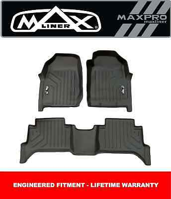 AU195 • Buy MaxPro Floor Mats 3D For Ford Ranger Dual Cab Ute PX3 2018 +  Complete Set