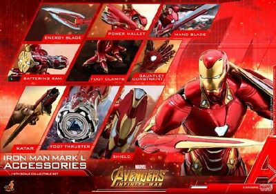 $ CDN466.36 • Buy Hot Toys ACS004 Iron Man Mark MK50 Accessories Avengers Collection Model Gift