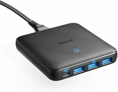 AU94.87 • Buy Anker USB C Charger, 65W 4 Port PIQ 3.0&GaN Fast Charger Adapter, PowerPort Atom