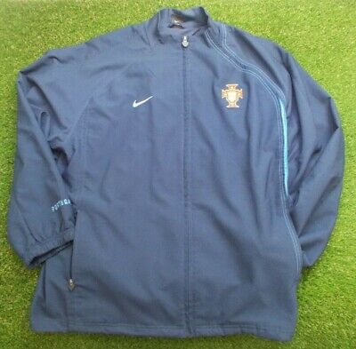 Vintage Portugal Nike Training Tracksuit Track Jacket Top (XL) • 14£