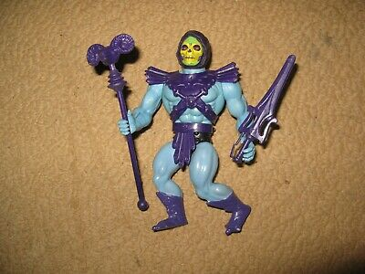 $49 • Buy Vintage 1982 MOTU SKELETOR He-man Masters Of The Universe FIGURE W/Staff Sword