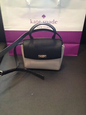 $ CDN119 • Buy Kate Spade Mini Alisanne Bag Crossbody NWT Black & Beige $239