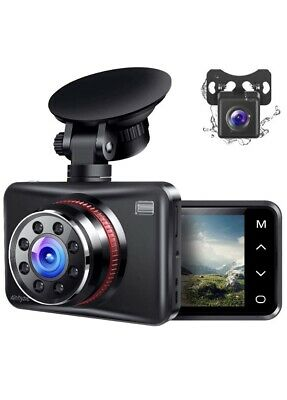 AU77.26 • Buy Dash Cam Front And Rear Dual Dash Camera For Cars With FHD 1080P