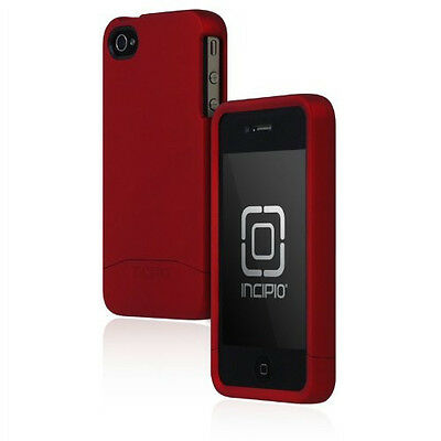 £15.39 • Buy Incipio Apple IPhone 4 4S Edge Pro Hard Cover Shell Slider Carrying Case Red