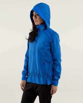 $ CDN39.99 • Buy Lululemon Run Bandit Jacket Baroque Blue Size 8