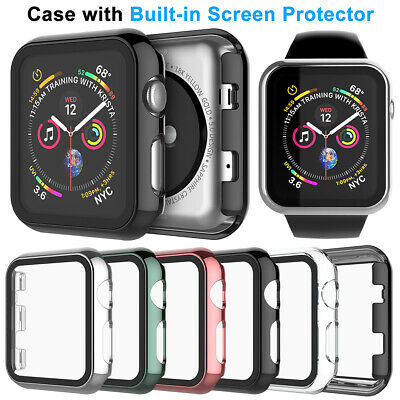 $ CDN7.41 • Buy For Apple Watch Series 6 5 4 3 2 SE Screen Protector Case 42/38mm 40/44mm Cover