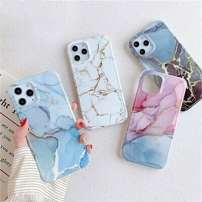 AU12.28 • Buy Marble Shockproof Case For IPhone 11 Pro Max X SE2 XS XR 8 7 Plus Soft TPU Cover