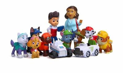 £6.99 • Buy 12 Pc/Set Paw Patrol Cake Toppers Action Figures Puppy Patrol Dog Kids Toy Gift