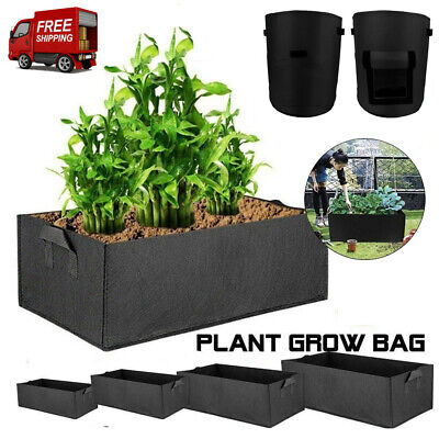 Raised Bed Elevated Plant Bed Garden Planter Flower Vegetable Box Grow Bags UK • 8.99£