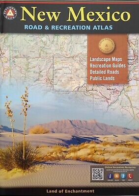 Benchmark New Mexico Road & Recreation Atlas, 9th Edition: State Recreation... • 3.50£