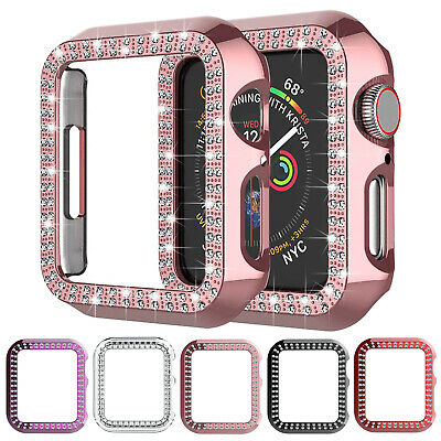 $ CDN7.41 • Buy For Apple Watch Series 6/5/4/3/2/SE Diamond Case Iwatch 42/38mm 40/44mm Cover