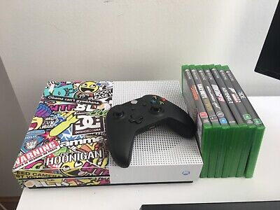 AU300 • Buy Microsoft Xbox One S 1TB White Console + 7 Games