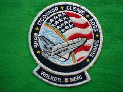 Nasa Space Shuttle Mission Patch 61b Launched 27/11/85 • 3£