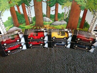 8  1:43 Scale Cars • 12£