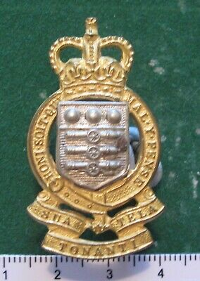 Royal Army Ordnance Corps Officers Cap Badge QC Tonanti • 8.99£