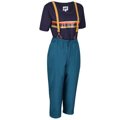 Doctor Dr Who Jodie Whittaker 13th Costume Cosplay Fancy Dress Pants & T-shirt  • 39.99£