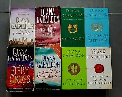 AU100 • Buy DIANA GABALDON**Complete Outlander (Cross Stitch) Series** 8 BOOKS