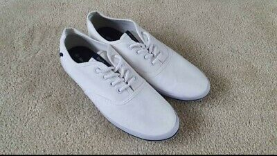Voi Jeans White Shoes Trainers Pump Used Once. Condition Like  New Size 8 • 8.99£