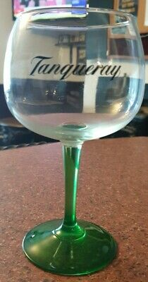 Brand New Tanqueray Gin Large Balloon Glass With Green Stem • 9.99£