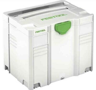 Festool 497566 Systainer T-loc Sys 4 Tl Carry Case Tool Box Brand New • 45.95£
