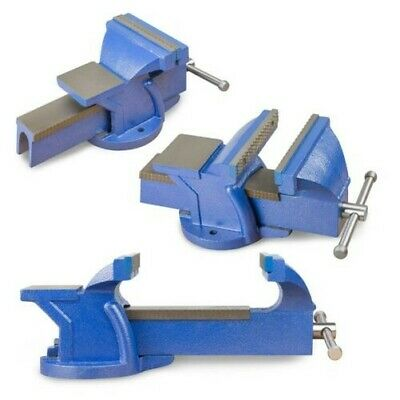 £36.33 • Buy Parallel Vice With Anvil Work Bench Vise Two Sizes