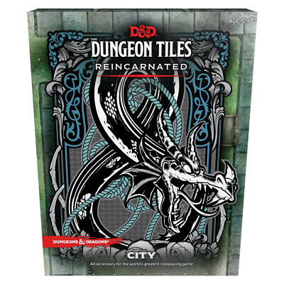 AU40.50 • Buy D&D Dungeon Tiles Reincarnated - City - Dungeons And Dragons