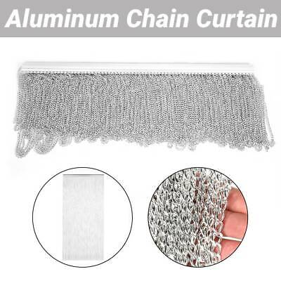 Metal Aluminum Chain Insect Fly Door Curtain Screen Pest Control 214.5 X 90CM • 18.74£