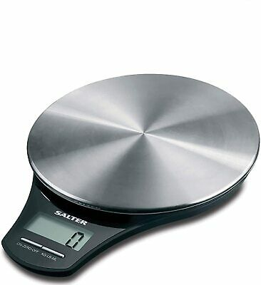 Salter Stainless Steel Digital Kitchen Weighing Scales - Electronic Cooking...  • 26.49£