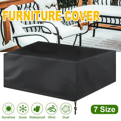 AU16.59 • Buy IN/Outdoor Garden Patio Furniture Cover Rain Snow UV Protector Sofa Chair Table