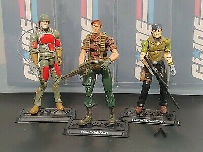 $ CDN53.56 • Buy GI Joe 25th Anniversary Lot Of 3 Tiger Force Flint Sgt. Flash Tunnel Rat Hasbro