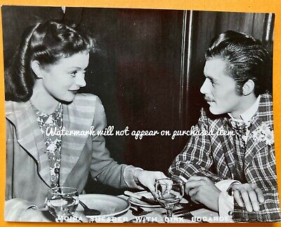 Vintage 1940s Film Stars MOIRA SHEARER DIRK BOGARDE Small Photo 9x7cm Plain Back • 3.99£