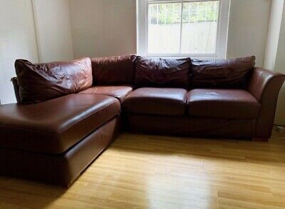 Gorgeous Second-Hand Vinyl Sofa - Collection Only • 250£