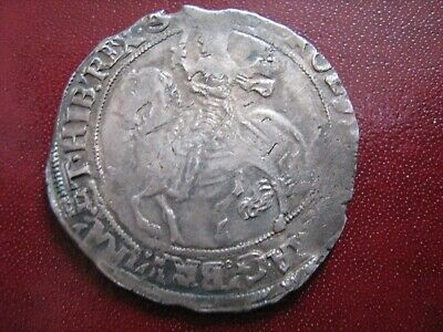 Charles I 1st Halfcrown Mm: Triangle In Circle - Full Weight As Pictured • 175£