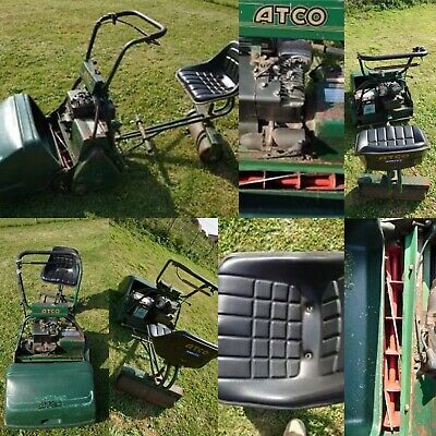 Atco Royale B24 Ride On Cylinder Mower Electric Start 5hp Briggs And Stratton • 450£