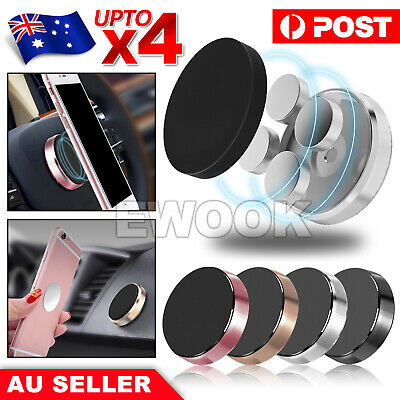 AU7.95 • Buy Universal Magnetic Magnet Car Phone Holder Mount Stand For IPhone Samsung PD GPS