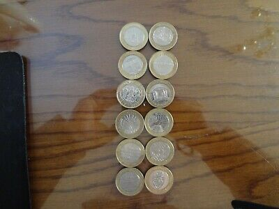X12, £2 Pound Coins All Different Job Lot Of Coins • 49.99£
