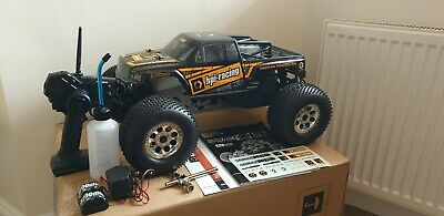 HPI Savage XL Octane 1/8 Scale Monster Truck + Accessories, 15CC 2-Stroke Petrol • 475£