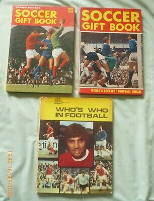 Charles Buchan Soccer Gift Book 1967-68 And 1969-70. Who's Who In Football 1970. • 11.99£