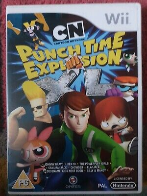 £3.40 • Buy CN Cartoon Network: Punch Time Explosion (Nintendo Wii) Beat 'Em Up FREE P&P