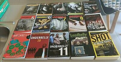 AU160 • Buy Underbelly Books X 15 John Silvester Andrew Rule In Vgc To Ex Cond