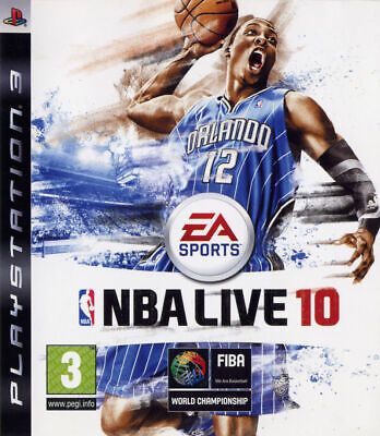 AU20.99 • Buy NBA Live 10 (Sony Playstation 3, 2009)