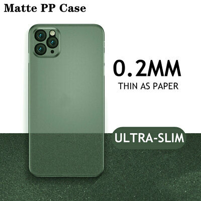 AU8.99 • Buy Matte Transparent Ultra-Thin Slim Case Cover Skin For IPhone 11 Pro Max XS XR X