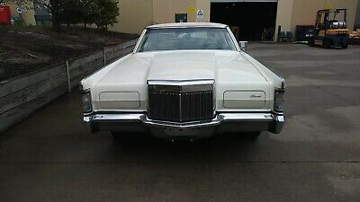 AU34000 • Buy 1971 Lincoln Continental MK 3 Coupe 460ci V8 Not Ford Cadillac Buick