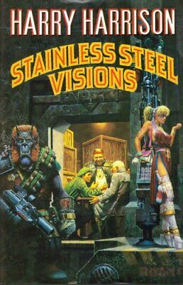 £6.99 • Buy Stainless Steel Visions By Harrison, Harry Hardback Book The Cheap Fast Free