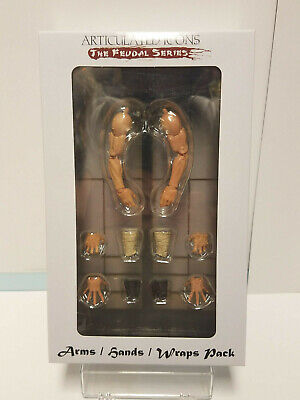 $ CDN101.43 • Buy Fwoosh Articulated Icons Feudal Series Arms / Hands / Wraps Pack New