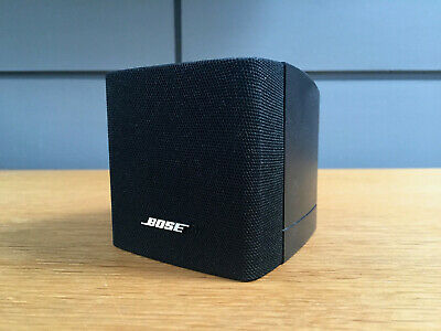Bose Black Single Cube Speaker  Acoustimass 3 5 10 15 Lifestyle 18 28 T10 Etc • 35£