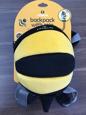LittleLife BumbleBee Toddler Backpack And Reins • 14£