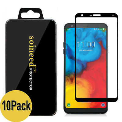 {1-10Pack} SOINEED® LG Stylo 4 Q710 FULL COVER Tempered Glass Screen Protector • 12.99£